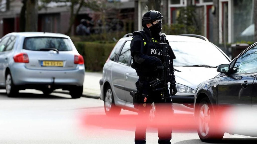 Polisi Antiteror Amankan Lokasi Penembakan di Utrecht Belanda