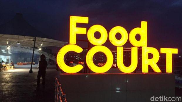 Area foodcourt Muara Baru