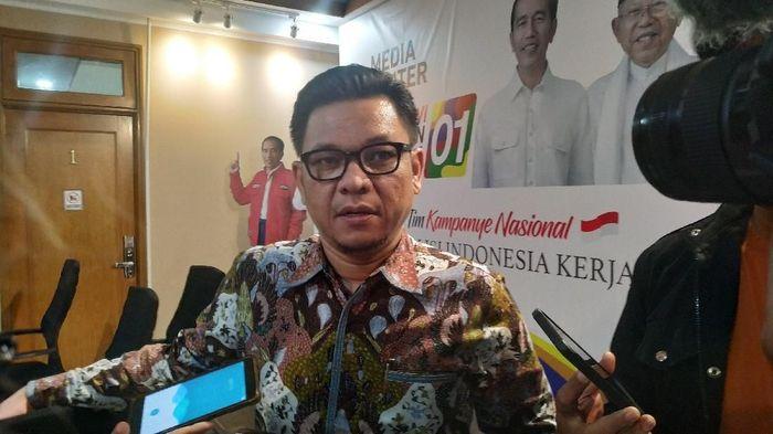 Jubir TKN Jokowi-Maruf Amin Ace Hasan/Foto: Ahmad Bil Wahid/detikcom