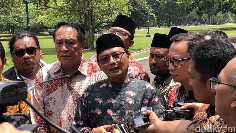 Bertemu Jokowi, FBR Sampaikan Siap Jaga TPS Pilpres 2019