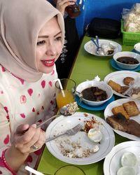 Nasi Rawon Dan Jajanan Pasar, Sarapan Kesukaan Istri Sandiaga Uno