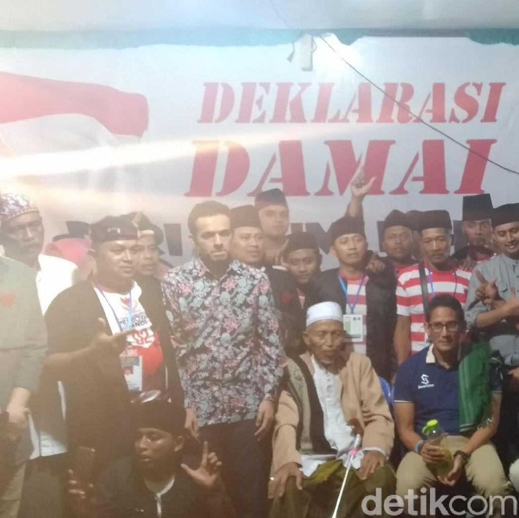 Sambangi Malang, Sandiaga Didukung Ansor Sakera Menangi Pilpres