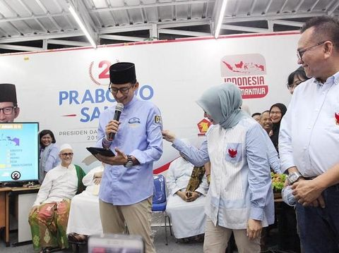 Sandiaga Uno dan Nur Asia Uno.