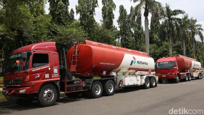 Mobil Tangki Pertamina/Foto: Agung Pambudhy