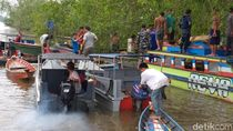 Kecelakaan Speed Boat di Sungai Musi, 4 Tewas dan 3 Masih Hilang