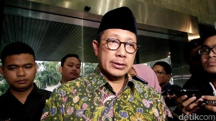 Menag Lukman Hakim Saifuddin (Rahmatia Miralena/detikcom)