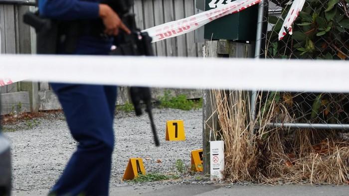Lokasi penembakan masjid di New Zealand. (Foto: Reuters)