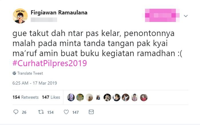 Anak masjid can relate nih kayaknya. (Foto: Twitter)