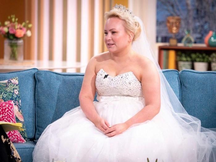 Theresa Mahon, jomblo yang sudah mempersiapkan pernikahan impian. Foto: dok. This Morning
