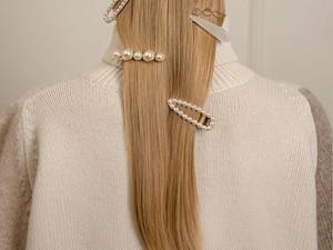 Opsi 8 Jepit Rambut Mutiara Cantik yang Sedang Tren Dipakai Artis & Selebgram