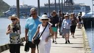 Jumlah Turis ke Indonesia Amblas Sampai 87 Persen