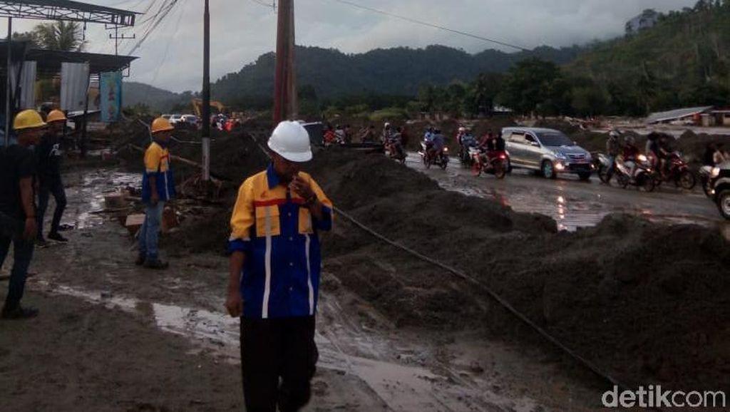 PLN: Pasokan Listrik Mulai Normal Usai Banjir Bandang Sentani