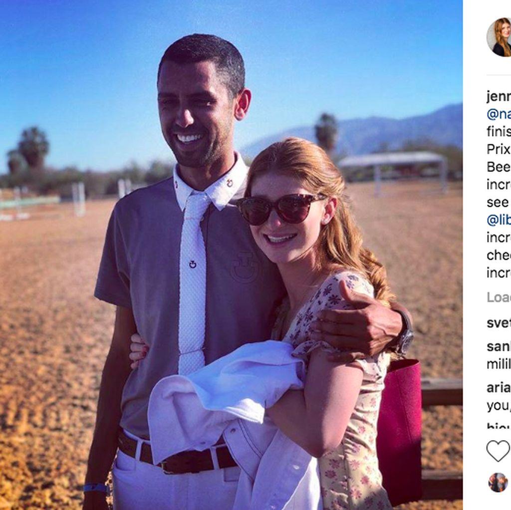Putri Bill Gates Bangga Banget Pacar Arabnya Juara Berkuda