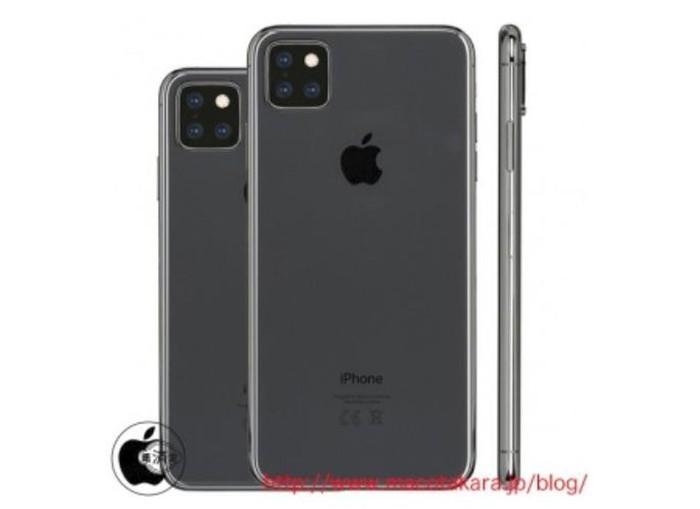 Bocoran kamera iPhone 11. Foto: Macotakara