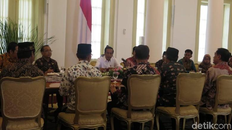 Pimpinan FBR Temui Jokowi di Istana Bogor