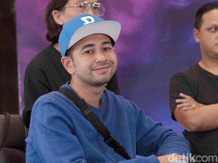 Raffi Ahmad saat ditemui di kawasan Kebon Jeruk.