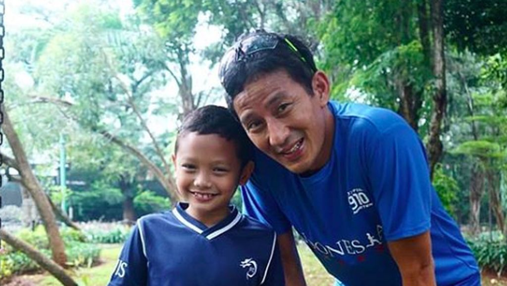 Kebersamaan Sandiaga Uno dan Anak Bungsunya yang Bikin Hati Adem