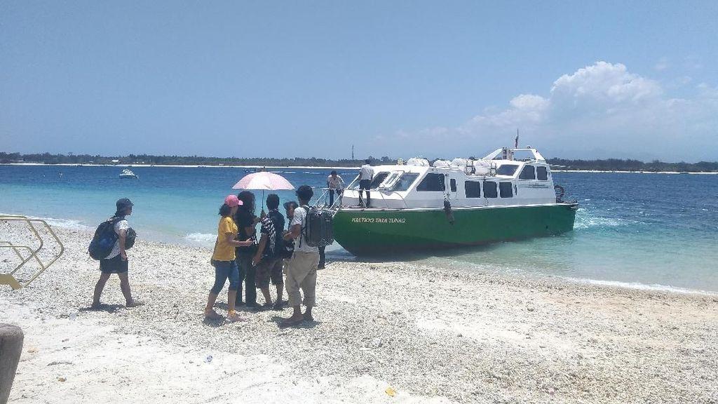 Wisata Air Terjun Ditutup Pasca Gempa Lombok, Gili Trawangan Aman