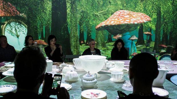 Petualangan Ajaib 'Wonderland' Hadir di ArtScience Museum Singapura