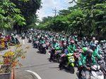Ratusan Ojol akan Gelar Aksi Solidaritas Rekannya Diadili di PN Surabaya