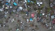 Penampakan Udara Dahsyatnya Siklon Idai di Zimbabwe