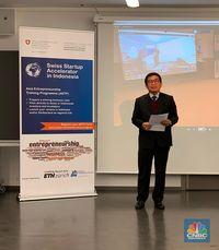 Swiss-Indonesia Startup Accelerator Program Diresmikan