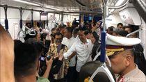 Jokowi Ajak Menteri Jajal MRT