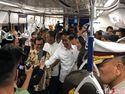 Video Jokowi Jajal MRT Jakarta, Ikut Desak-desakan Bareng Warga
