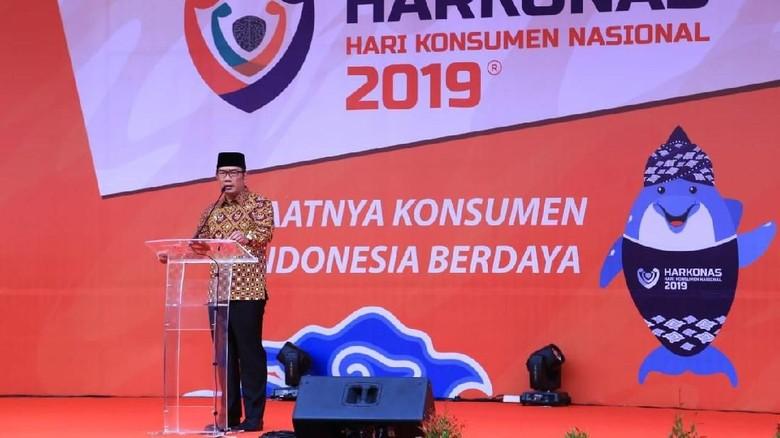 Buka Harkonas, Ridwan Kamil Harap Konsumen Cerdas Bertransaksi