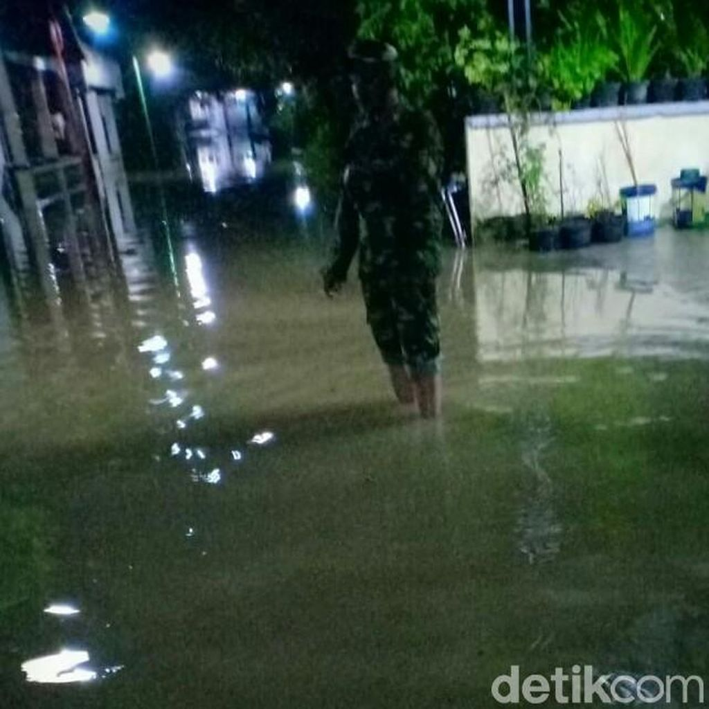 Hujan Lebat, Banjir Melanda Beberapa Desa di Grobogan