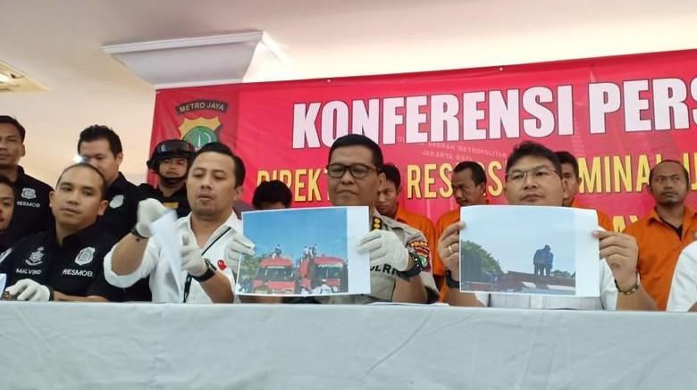 Tersangka Pembajak Mobil Tangki Pertamina ke Depan Istana Jadi 5 Orang