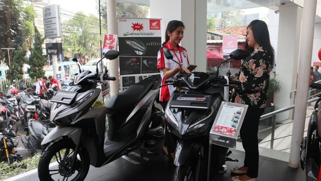 Penjualan Motor 10 Bulan Pertama 2019 Naik Tipis