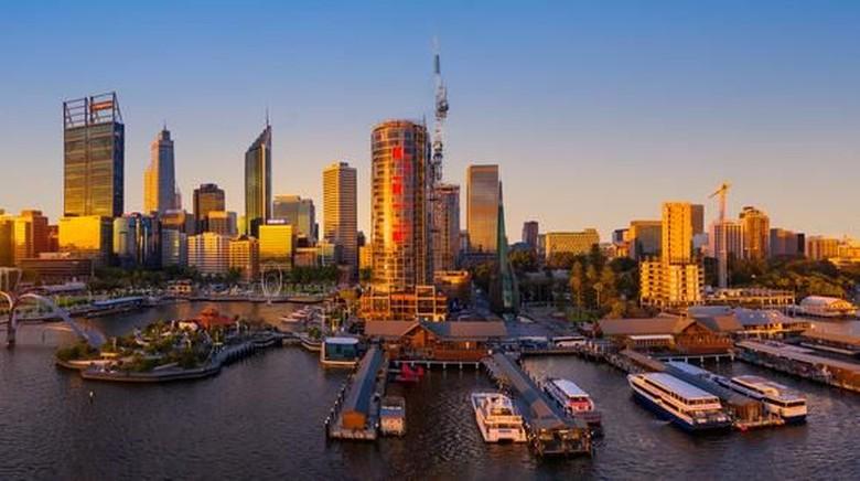 Elizabeth Quay di Perth (dok. Tourism Western Australia)