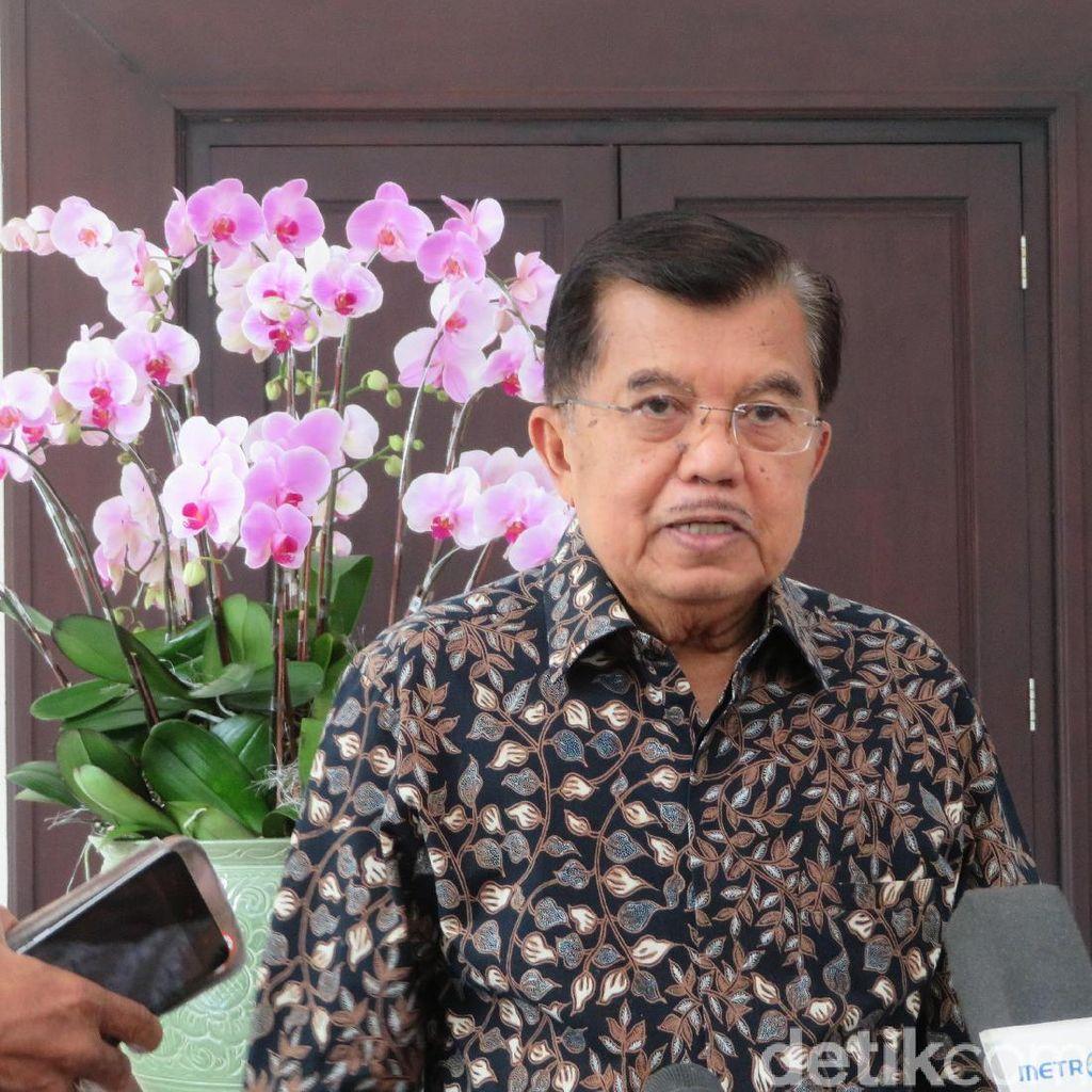 Prabowo Tolak Hasil Pilpres 2019, JK: Ajukanlah ke MK