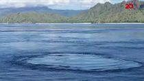 Video Fenomena Pusaran Air di Perairan Labuan Bajo