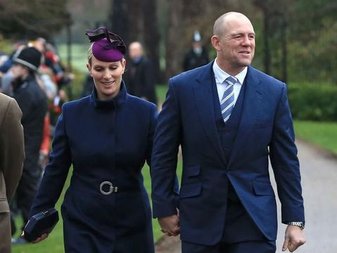 HERTFORD, ENGLAND - MAY 08:  Mike Tindall and Zara Phillips at the ISPS Handa Mike Tindall 3rd annual celebrity golf classic at The Grove Hotel on May 8, 2015 in Hertford, England.  (Photo by Eamonn M. McCormack/Getty Images)