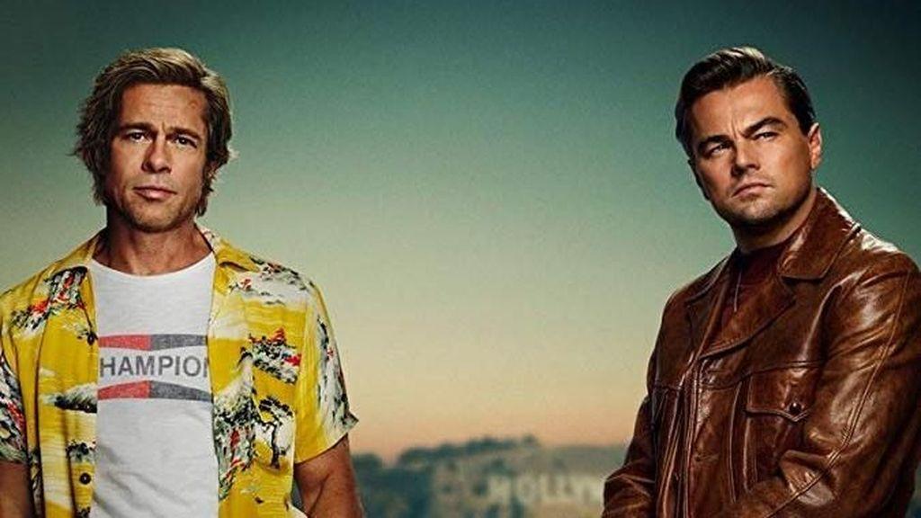 Penampakan Perdana Leonardo DiCaprio-Brad Pitt di Poster Film Quentin Tarantino