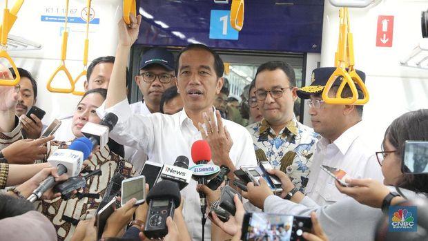 Jokowi Sebut Ground Breaking MRT Jakarta Fase II Minggu ini