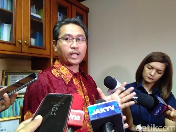 Kepala Pusat Registrasi dan Sertifikasi Jaminan Produk Halal Kemenag, Mastuki (Foto: Lisye Sri Rahayu/detikcom)