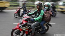 PSBB Jakarta, Motor Pribadi Bisa Bawa Penumpang Asal Satu Alamat