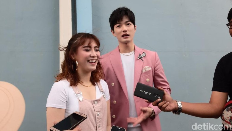 Foto: Lee Jeong Hoon dan Moa /  Febriyantino Nur P