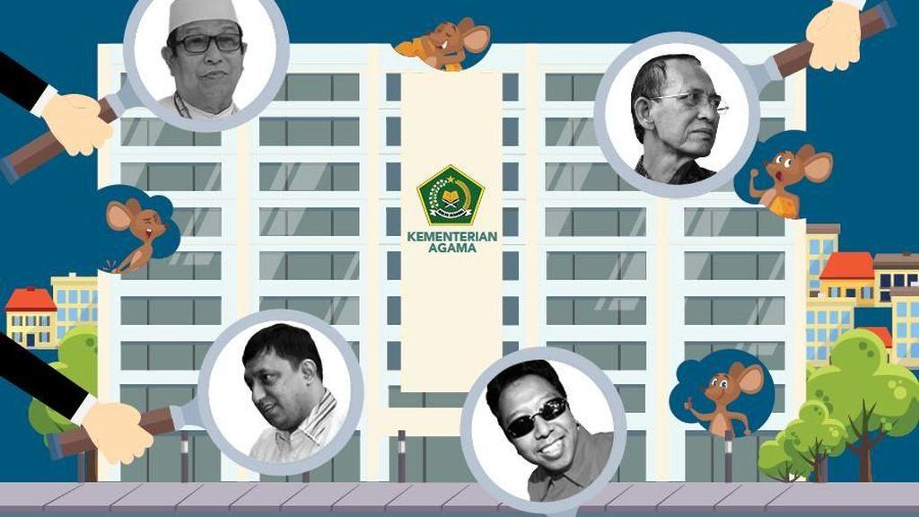 Sebelum Dugaan Jual Beli Jabatan, Ini 4 Kasus Korupsi di Kemenag