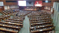 Paripurna Minim Kehadiran, Ketua Dewan Pasang Badan