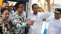 Jajal MRT Jakarta, Jokowi Catat Keluhan Disabilitas