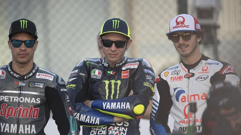 Kesan Bagnaia Balapan dengan Rossi: Luar Biasa dan Menyenangkan