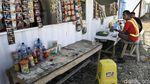 Penampakan Rest Area Darurat di Tol Bakauheni-Terbanggi Besar