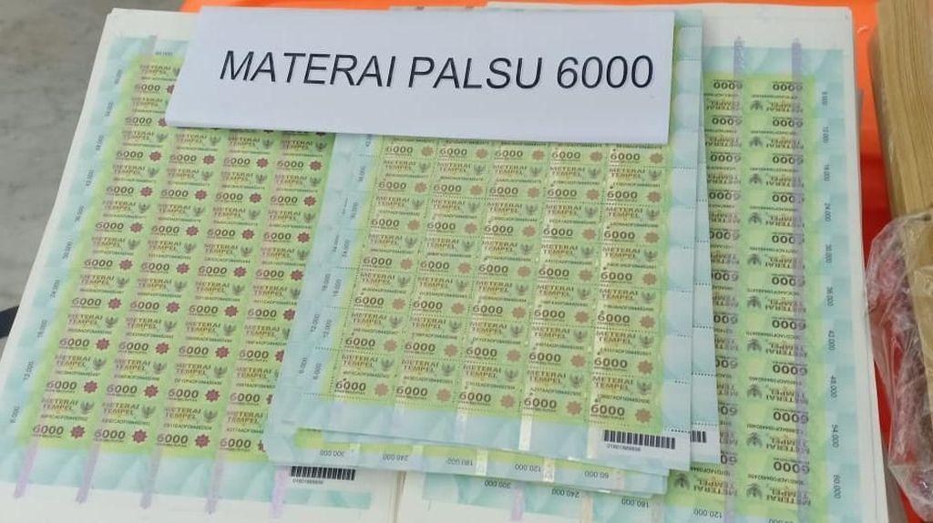 Negara Ditaksir Rugi Rp 30 Miliar Gara-gara Meterai Palsu