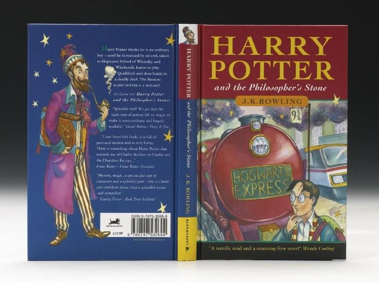Cetakan Pertama Harry Potter and the Philosophers Stone Dilelang Rp 1,2 M