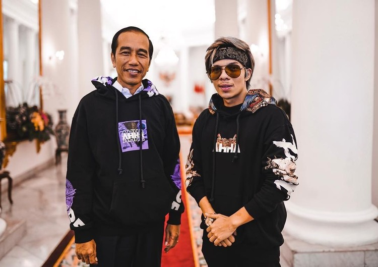 YouTuber Atta Halilintar bertemu Presiden Jokowi