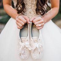 Tren Baju Pengantin 2020, Gaun a la Princess dan Sneakers